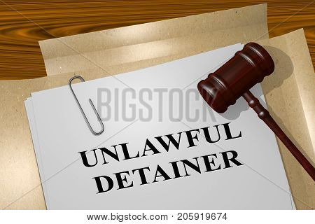 Unlawful Detainer Concept