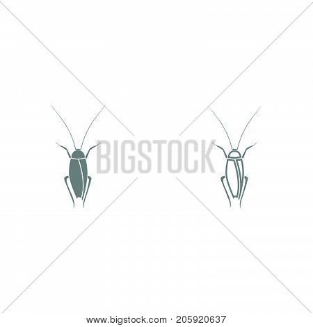 Cockroach It Is Black Icon .