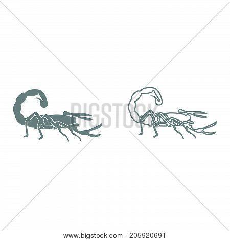 Scorpion It Is Black Icon .