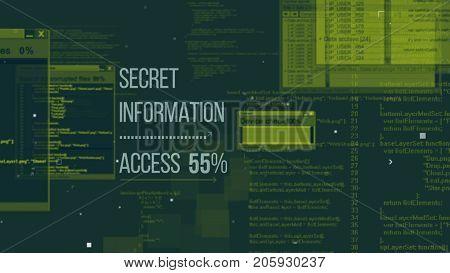 Advanced Hackers Code Illustration