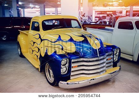ST PETERSBURG, RUSSIA - JUNE 1, 2017: Chevrolet Cab pickup