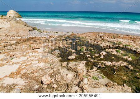 Arher Beach On Socotra Island, Yemen