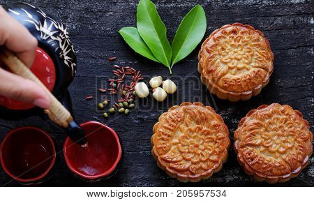 Vietnamese Sweet Food, Moon Cake
