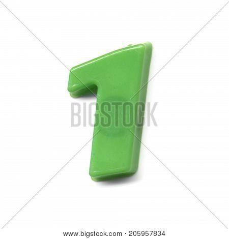 Plastic Magnetic Number 1