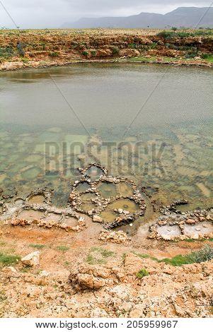 Salt Mining On The Island Of Socotra