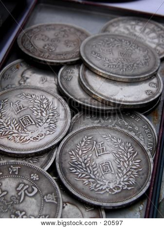 Old Japanese Coins