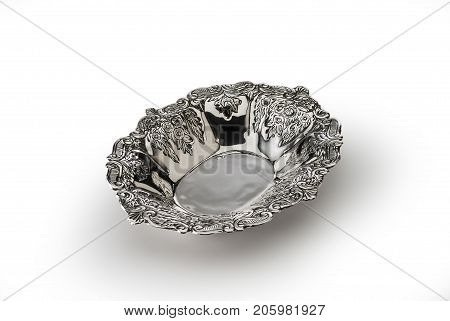 Oval Bowl Embossed Sheffield