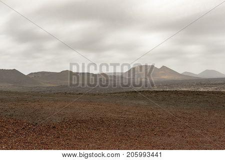 Martian Style Landcape