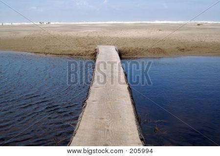 Log-Brücke
