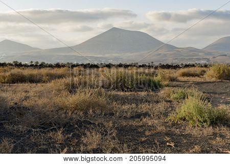Montana Roja, Lanzarote