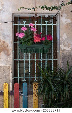 Palma Old Town Detail