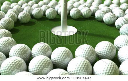 Golf Hole Assault