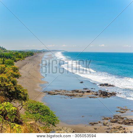 View At The Hermosa Beach Near Jaco City - Costa Rica