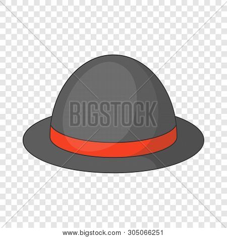 Bowler Hat Icon. Cartoon Illustration Of Bowler Hat Vector Icon For Web Design