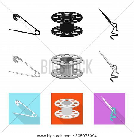 Vector Design Of Craft And Handcraft Symbol. Set Of Craft And Industry Stock Vector Illustration.