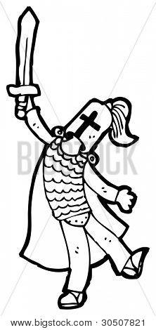 arthurian knight cartoon