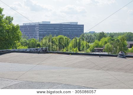 City Riga, Latvian Republic. Latvian State Revenue Service Building From Roof. 5. Jun. 2019 Travel P