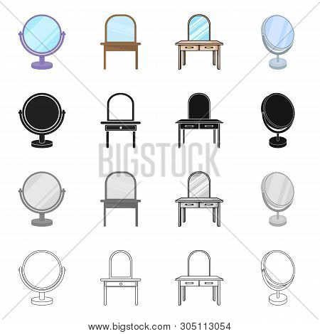 Vector Illustration Of Imagery And Decorative Icon. Set Of Imagery And Silver Stock Vector Illustrat