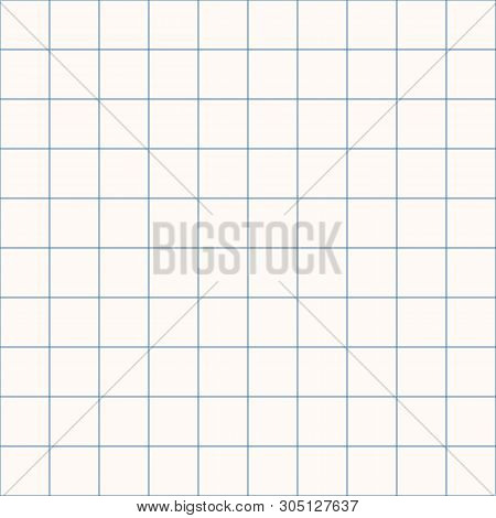 Millimeter grid. Square graph paper background. Seamless pattern. Vector illustration. poster