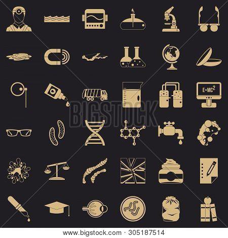 Professional Widget Icons Set. Simple Set Of 36 Professional Widget Vector Icons For Web For Any Des