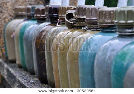 Military Water Bottles, Vietnam