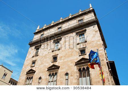 Palace Of The Generalitat Valenciana