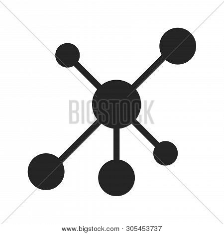 Network Icon Isolated On White Background. Network Icon In Trendy Design Style. Network Vector Icon