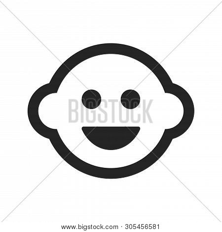 Child Icon Isolated On White Background. Child Icon In Trendy Design Style. Child Vector Icon Modern