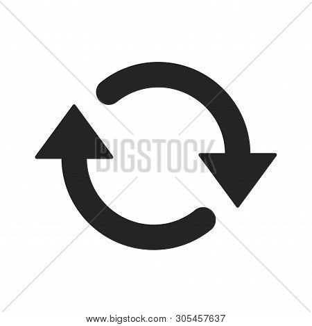 Update Icon Isolated On White Background. Update Icon In Trendy Design Style. Update Vector Icon Mod
