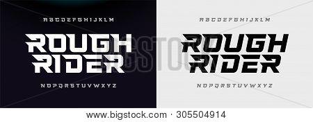 Sport Modern Italic Alphabet Font. Typography Urban Style Fonts For Technology, Digital, Movie Logo
