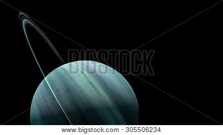 poster of Planets and galaxy, science fiction wallpaper. Beauty of deep space. Billions of galaxy in the universe Cosmic art background