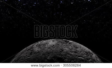 Planets And Galaxy, Science Fiction Wallpaper. Beauty Of Deep Space. Billions Of Galaxy In The Unive
