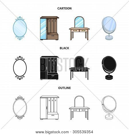 Vector Design Of Imagery And Decorative Icon. Set Of Imagery And Silver Stock Vector Illustration.