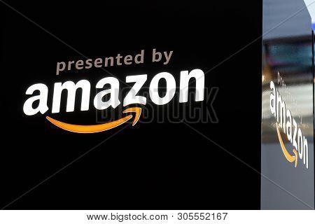 Las Vegas - Circa June 2019: Amazon Prime Video Display. Amazon.com Is The Largest Internet-based Re