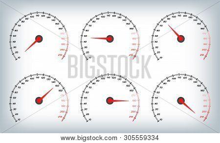 Speedometer Car   Vector & Photo (Free Trial) | Bigstock