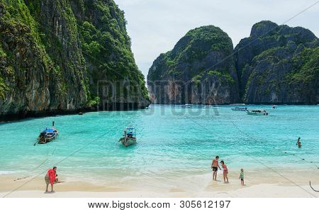 Seascape Of Phuket Island, Thailand
