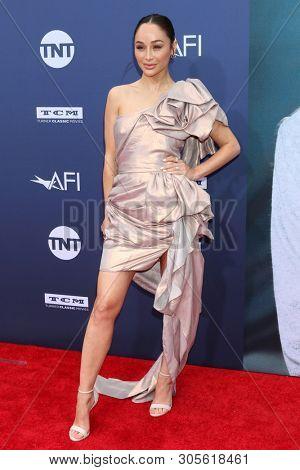 LOS ANGELES - JUN 6:  Cara Santana at the  AFI Honors Denzel Washington at the Dolby Theater on June 6, 2019 in Los Angeles, CA