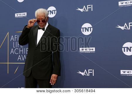 LOS ANGELES - JUN 6:  Morgan Freeman at the  AFI Honors Denzel Washington at the Dolby Theater on June 6, 2019 in Los Angeles, CA