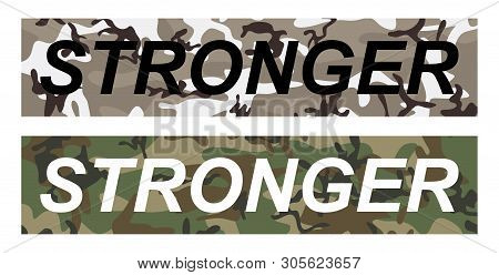 Stronger - Fashion Vector & Photo (Free Trial) | Bigstock