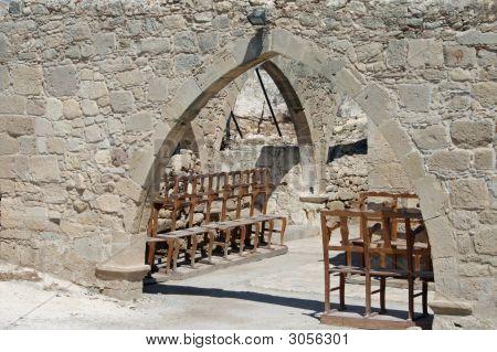 Cyprus -  Old Church At Kouklia