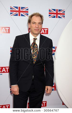 LOS ANGELES - FEB 24:  Julian Sands arrives at the GREAT British Film Reception at the British Consul General's Residence on February 24, 2012 in Los Angeles, CA.