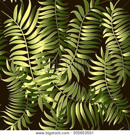Green Fern Leaves Vector & Photo (Free Trial) | Bigstock