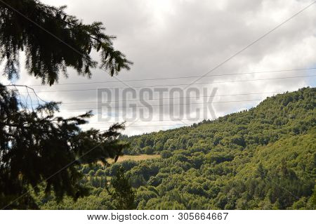 Magnificent Mountains Of Galicia It Fills Valleys Forests Of Pines Meadows And Forests Of Eucalyptus