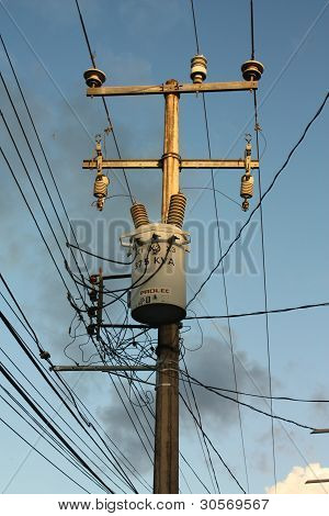 elektrische Turm