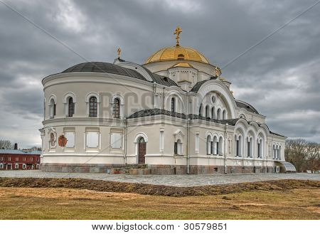 Garrison cathedral of the Brest fortress