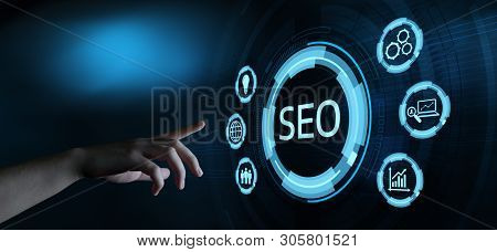Seo Search Engine Optimization Marketing Ranking Concept