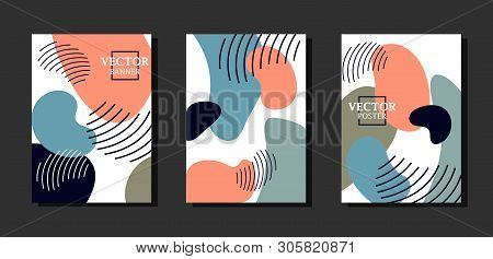 Dynamic background with graphyc elements, modern abstract shapes.   Avant-garde style. Geometric wallpaper for business brochure,  cover design. poster