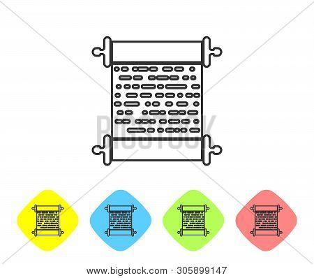 Grey Paper Scroll Vector & Photo (Free Trial) | Bigstock