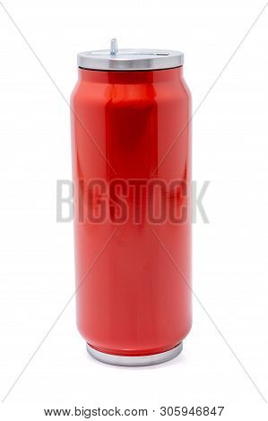Red Thermos Bottle Or Stainless Steel Thermos Travel Tumbler