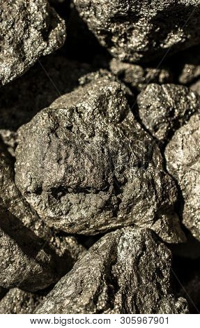 The Mineral Pyrite, Or Iron Pyrite, Also Known As Fools Gold, Is An Iron Sulfide.